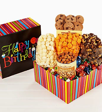 The Popcorn Factory® Birthday Wishes Box