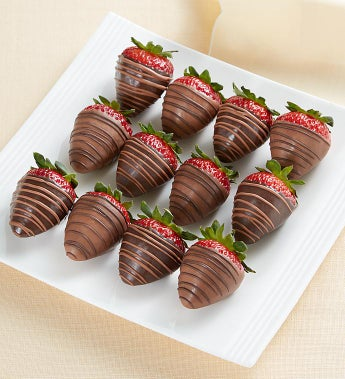 Fannie May SUGAR FREE Chocolate Strawberries