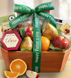 Father's Day Fresh From The Orchard Fruit Basket - Father's Day Fresh From the Orchard Fruit Basket