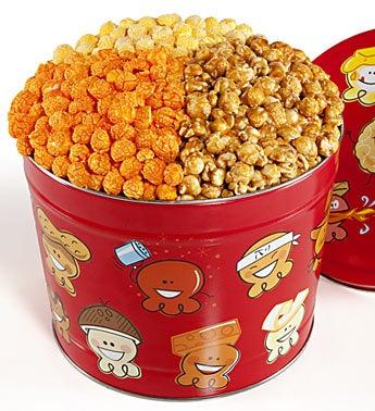 The Popcorn Factory® Popcorn Pals 3-Way Tin