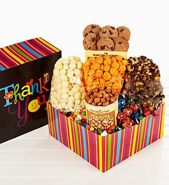 The Popcorn Factory® Thank You Wishes Sampler Box