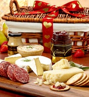 Valentine Grand Meat & Cheese Gift Basket