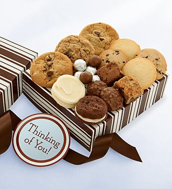 Cheryl?s Thinking of You Cookies & Treats Box