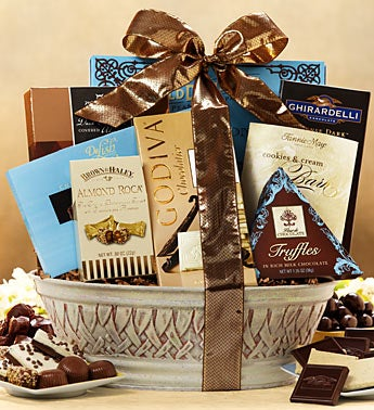 Happy Mother's Day Divine Chocolate Gift Basket