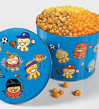 The Popcorn Factory® Sports Pal Popcorn Tin