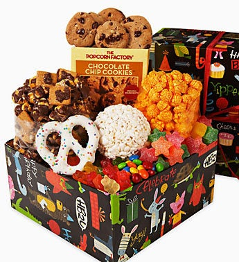 The Popcorn Factory® Birthday Animal Sampler Box