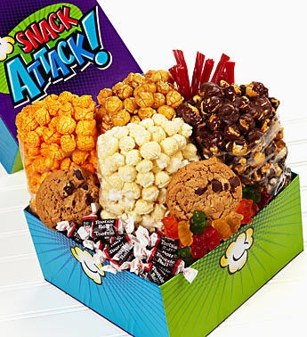 The Popcorn Factory® Snack Attack Sampler Box