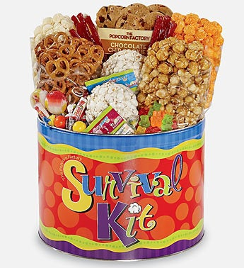 Survival Snack Tin by The Popcorn Factory®