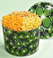 The Popcorn Factory� Shamrock 3-Way Tin 2G