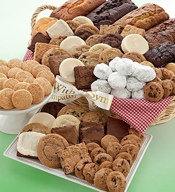 Mrs. Beasley?s Sympathy Dessert Gift Basket