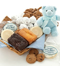 Mrs. Beasley's Welcome Baby Boy Gift Basket - Mrs. Beasley's Welcome Baby Boy Basket