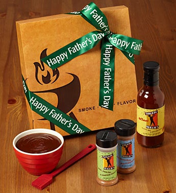 Happy Father's Day Smokin' Willies BBQ Set