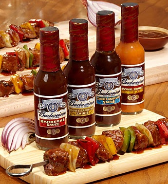 Budweiser� Grilling Steak Sauces
