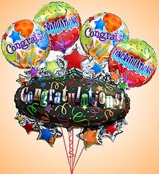 Congratulations Marquee Mylar Bundle - Small