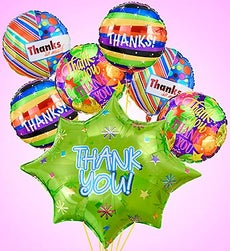 Thank You Burst Mylar Bundle - Large