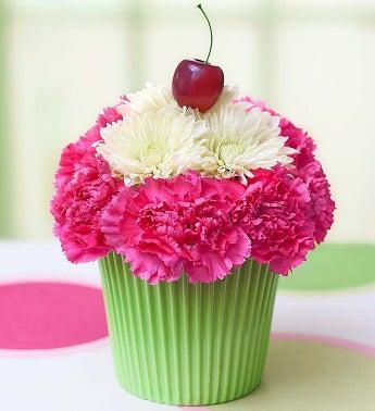 Cupcake in Bloom - 1-800-Flowers