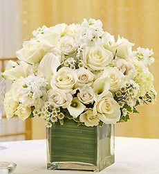 All White Centerpiece Package - Set of 15