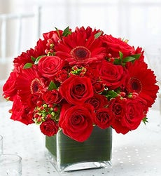 Red Centerpiece Package - Set of 10