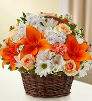 Peace, Prayers & Blessings - Peach, Orange & White