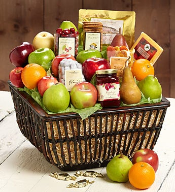 Cascade Mountain Gathering Fresh Fruit Gift Basket