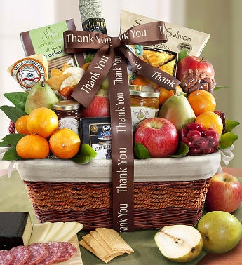 image of You Shouldn't Have Thank You Gift Basket