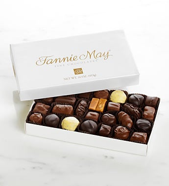 Fannie May� Milk & Dark Chocolate Assortment 2 LB