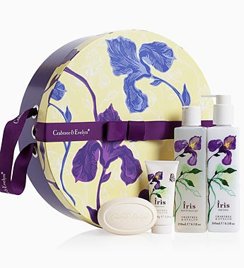 Crabtree & Evelyn Iris Hat Box 96475