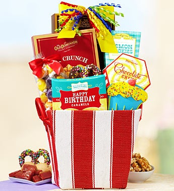 Birthday Delight Sweets Gift Basket
