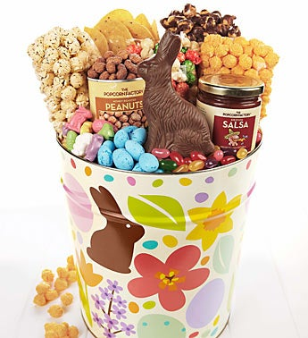 The Popcorn Factory� Chocolate Bunny Snack