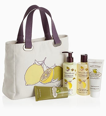 Crabtree & Evelyn� Citron Honey & Coriander Tote