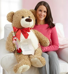 Big Bear Hugs for My Love - Big Bear Hugs for My Love with Message in a Bottle