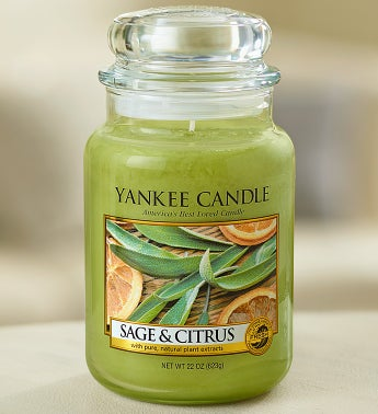 Sage and Citrus Yankee Candle�