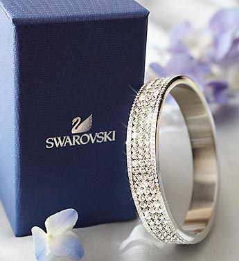 SWAROVSKI� Crystal Bangle Bracelet