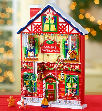 Keepsake Christmas Calendar House