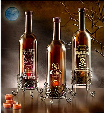 Yankee Candle� Halloween Wine Bottles