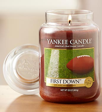 First Down? Yankee Candle�