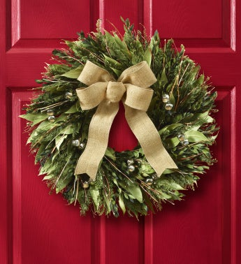 Jingle Bell Wreath - 22""