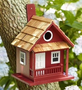 Lake Side Cottage Birdhouse