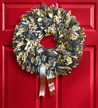 Winter's Calm Wreath