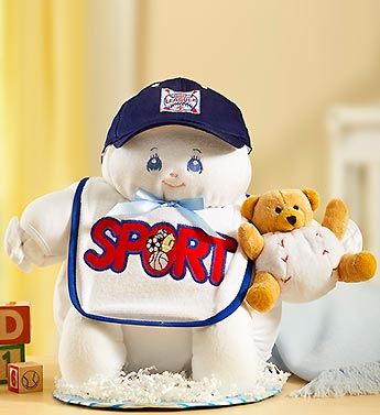 Sport Baby Boy Doll Gift Set