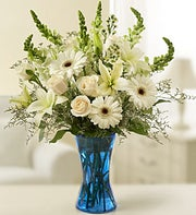 International Canada - Tableside Sympathy Arrangement in White