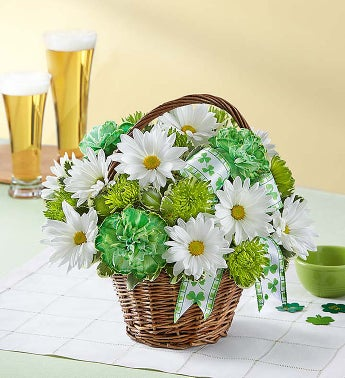 best st. patrick's day flowers