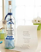 Personalized Message in a Bottle® Birthday Wishes Shop Now