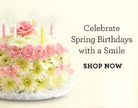 Celebrate Sping Birthdays with a Smile SHOP NOW