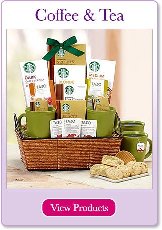 Coffee & Tea Baskets