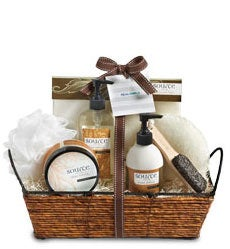 Vanilla Bliss Spa Basket by Real Simple®